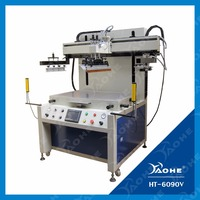 semi automatic flat serigraph printing machine