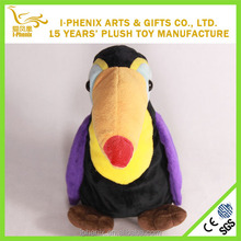 Promotional gifts lifelike plush bird cute children toys cartoon plush bird wholesale