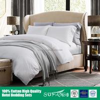 Hotel bedding/Natural and comfortable tencel fiber reactive printing 4pcs flat sheet