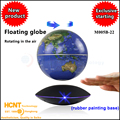 HCNT Factory price levitating map globe high-quality floating world globe