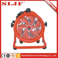 metal pedestal exhaust industrial fan