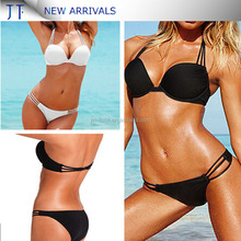 2017Custom design girl extreme bikinis swimming wear for womens