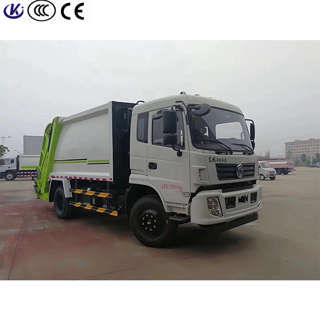 7000L compression garbage truck 6 ton dustcart waste collection truck for sale