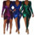 Womens v neck mini tight sparkly bodycon party club dress 2019