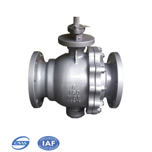 metal sealing float ball valve for water/acid Corrosion Resistant valve