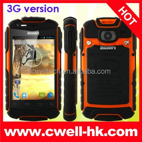 Hot Sale 3.5 Inch Screen Discovery V5+ Unlocked 3G Waterproof Android Smartphone