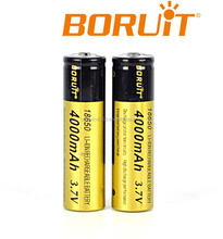 Boruit Best Price 3.7V Lithium ion Battery Cell 18650 with CE Certify