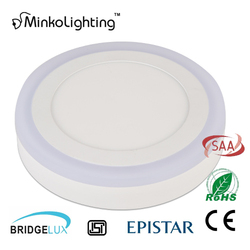 Factory Price Two Color SMD2835 Surface Mounted 12w Ceiling Panel Light 12 Watt Led Downlight