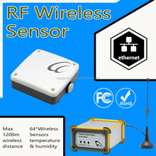 Wireless Temperature Sensor zigbee thermometers with hygrometer anemometer monitor