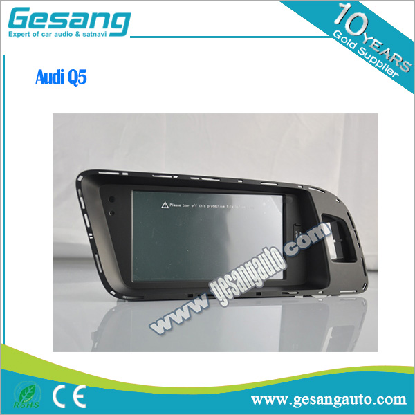 Gesang auto electronic car dvd player gps navigator for Audi Q5 with WIFI AVIN FM BT DVR IPOD