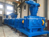 High capacity snow melt agent pellet machine