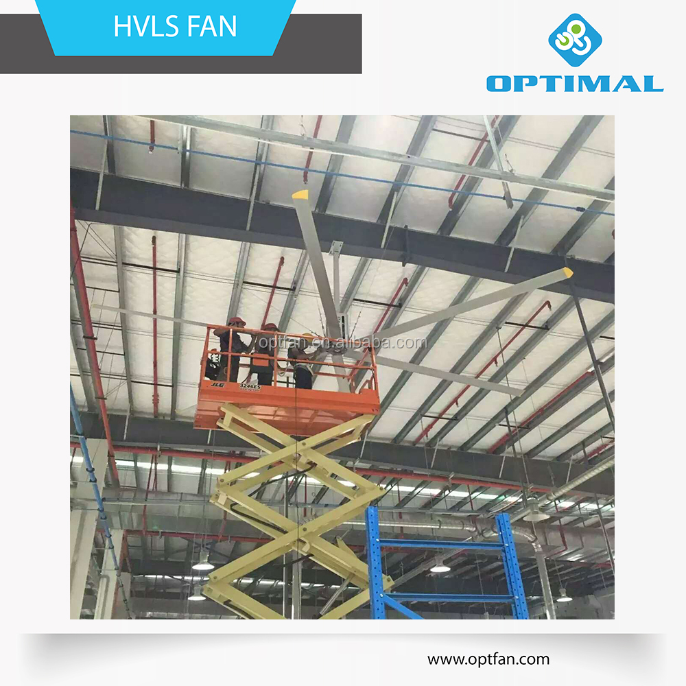 OPT 12--24ft industrial hvls fan