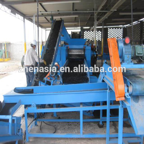 Waste Tire Recycling Solution to Fine Rubber Powder