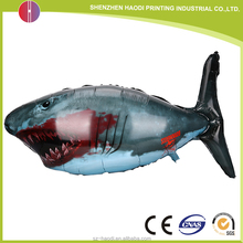 132*73.5 CM big size fish shaped foil balloon for toys