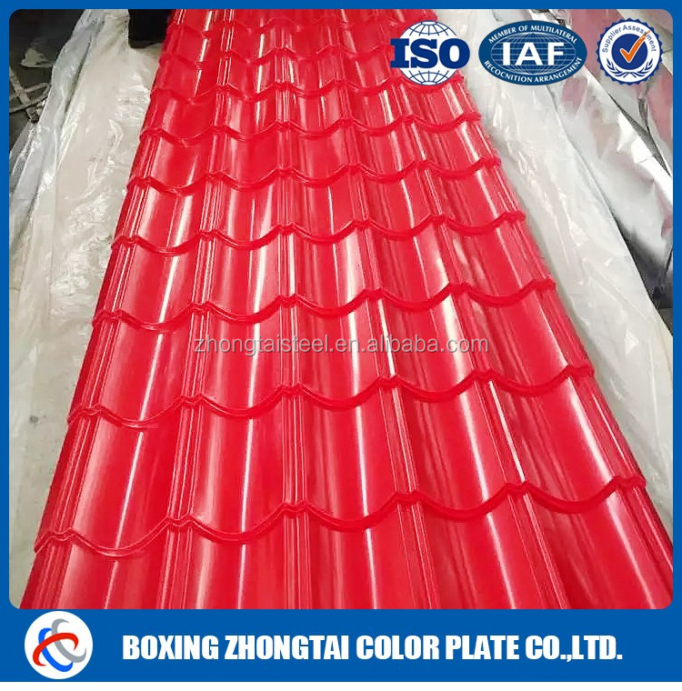 Low price factory corrugated roof construction material/roofing materials