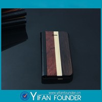 Wholesale Factory Price Leather Wood Cell Phone Case For Iphone5 5s, Phone Case Wood