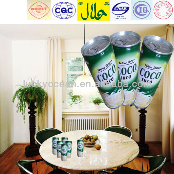 small size cocoanut juice 240ml tin package