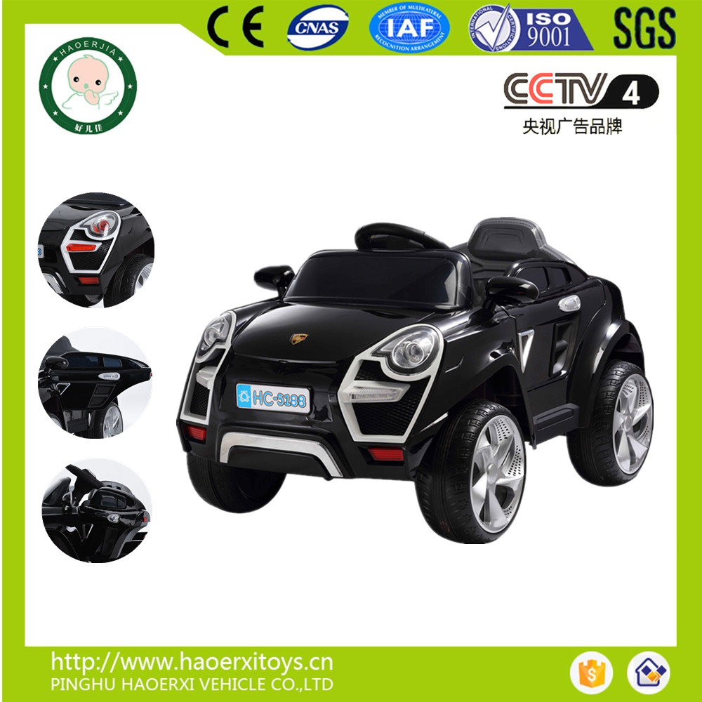 child drivable open door toy car, kids toy car engine