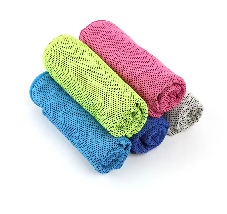 Amazon 2017 Hot Sales promotional Summer Cool Towel, <strong>Portable</strong> Ice Towel Cooling Towel For Sports