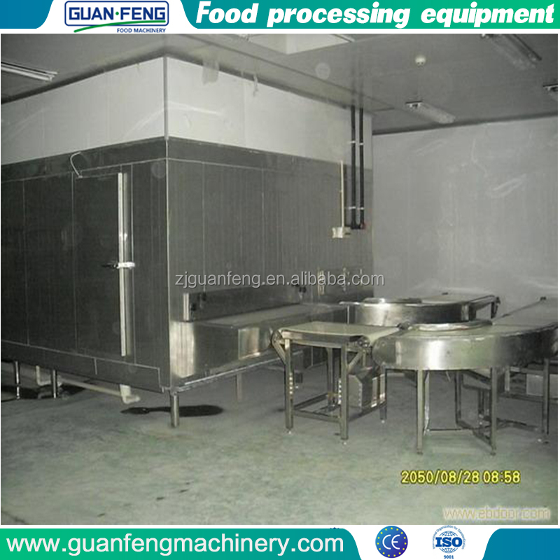 China Supplier High Quality freezing machine tunnel for hilsa fish