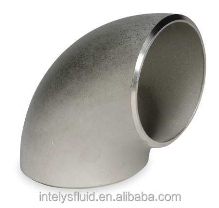 ASTM A403 WP316/316L WP304/304L SCH 40 80 Stainless Steel Butt Weld Fitting Elbow 90 Degree long/short radius