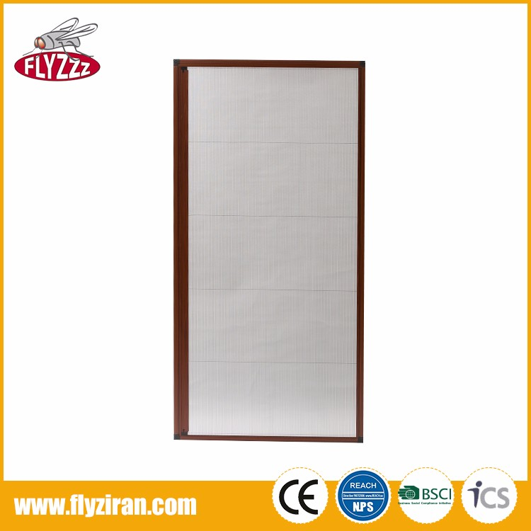 Professional customized DIY pleating retractable insect screen for door