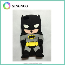 3D Cartoon batman Silicone Back Case Cover for iphone 5