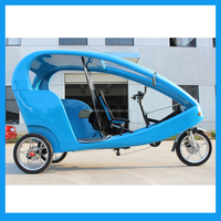 bajaj passenger tricycle in three wheel