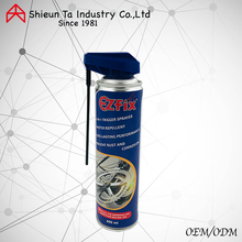 Bicycle gear/chain lubricant aerosol spray