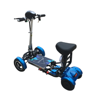 Movilidad de doble asiento plegable mini nino barato motocicleta electrica