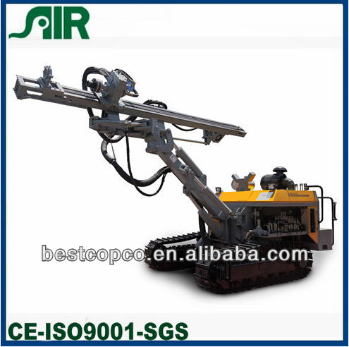 all hydraulic tracked down hole drilling rig H680