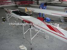 fiberglass recreational used sprint light weight racing rowing boat/shell 1x