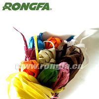 biodegradable and 100% kraft paper raffia string
