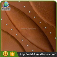 fashion faux leather wall panels in ceiling design
