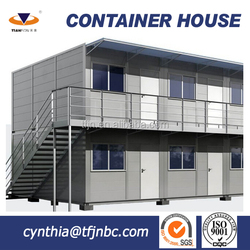 Northern Europe Prefab Cabin Container House with SGS Certificated