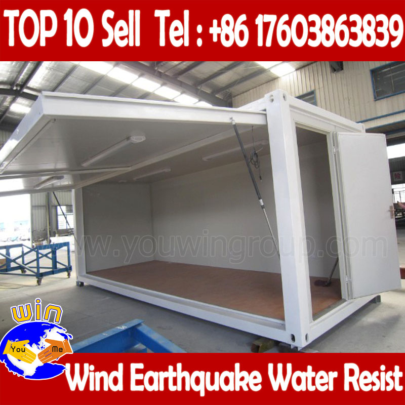 cheap steel prefab house, prefabricated light steel frame house, folding container house