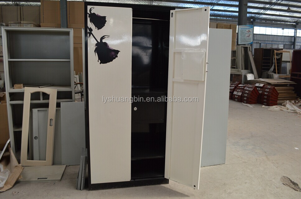 High end 2 door locker used coin operated lockers/storage bag cupboard/steel knock down locker cabinet