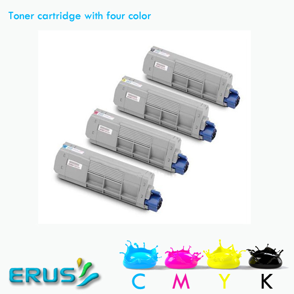 For OKI C610 610 Color Toner Cartridge 44315304 44315303 44315302 44315301