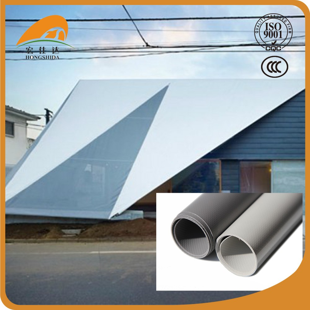 Factory wholesale tarpaulin pvc coated polyester fabric roofing sheet