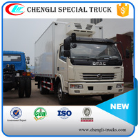 Dongfeng Light 4x2 Icecream Mobile Reefer Truck 5 ton Right hand drive