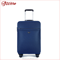 Custom Design Vintage Patent Leather Luggage