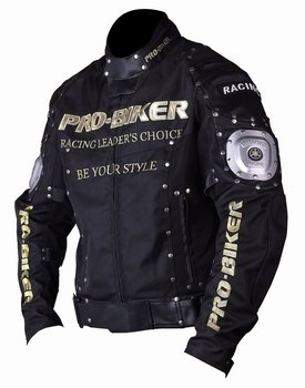 2017 Fashion Windproof Motorcycle Jackets Black color