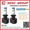 12V 24V Highest Lux Fanless 25W High Power Canbus Headlight LED for cars