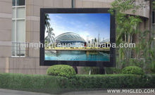 High brightness and well radiating led display p16