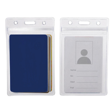 Wear-resistant Durable PVC Plastic ID Card Holder