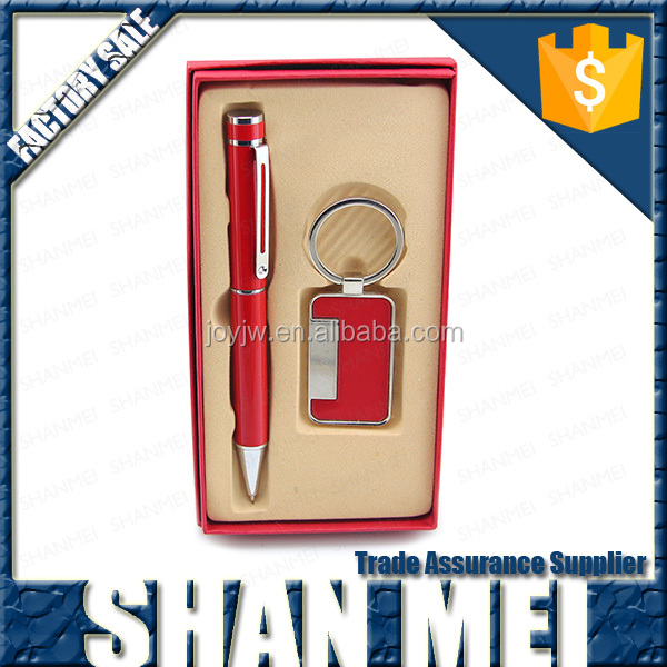 mental pen and keychain gift sets,sales promotion giveaways/personalized gifts wholesale
