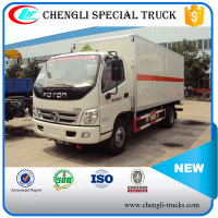 FOTON 100hp 4*2 6wheels 7ton Box Van Type Trucks