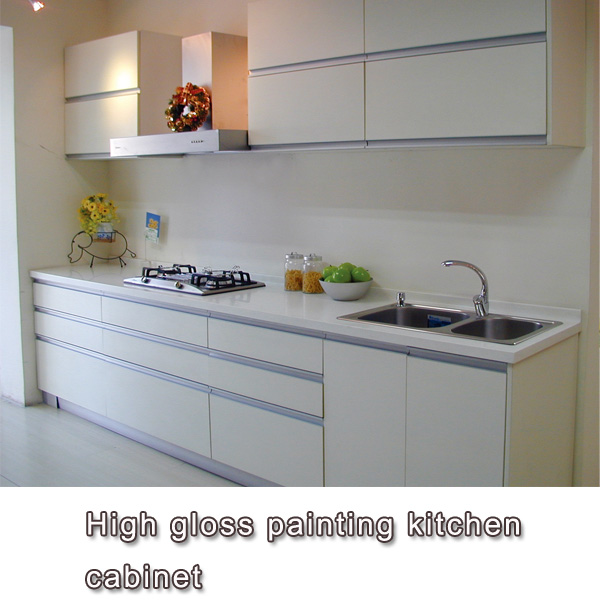 Colourful Painting Kitchen Cabinet Door