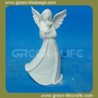 New product porcelain angel figurines
