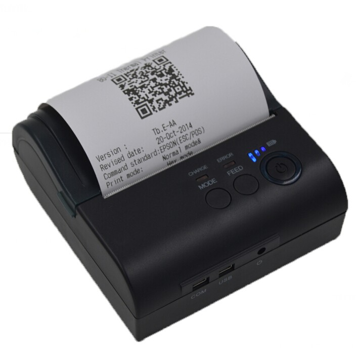 Zjiang Commercial Business Mini Portable Printers Bluetooth for Android Mobile Phone with Newest SDK ZJ-5801